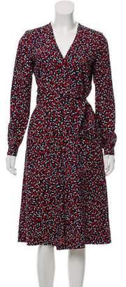 Vanessa Seward Silk Printed Jumpsuit