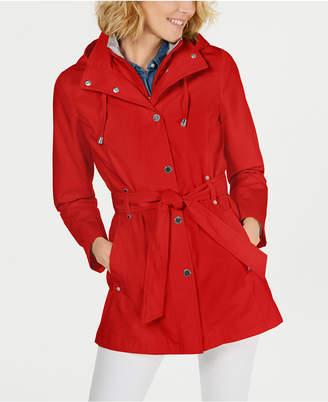 Nautica Belted Raincoat