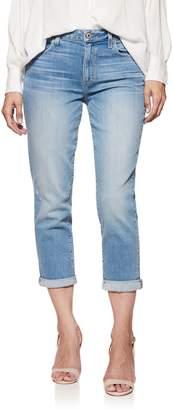Paige Transcend Vintage - Jimmy Jimmy High Waist Crop Boyfriend Jeans