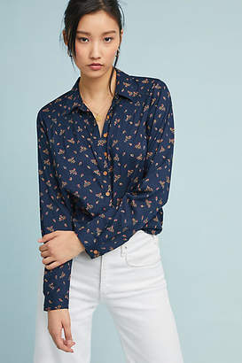 Maeve Calico Floral Buttondown