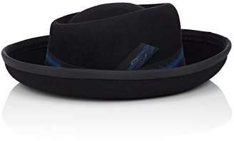 Jennifer Ouellette Women's Porkpie Cooper Fur Felt Hat