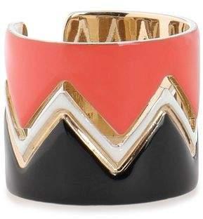 Missoni Gold-Tone Enamel Ring