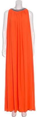 Saloni Embellished Maxi Dress w/ Tags