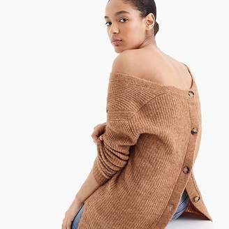 Point Sur open-back sweater
