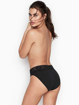 Victoria's Secret Stretch Cotton Lace-waist High-leg Brief Panty