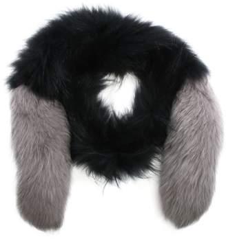 Oakwood Long Island Grey Fur Stole
