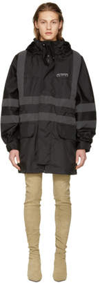 Yeezy Black Construction Parka