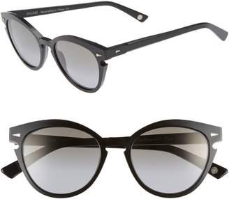 Cat Eye AHLEM Menilmontant 53mm Sunglasses