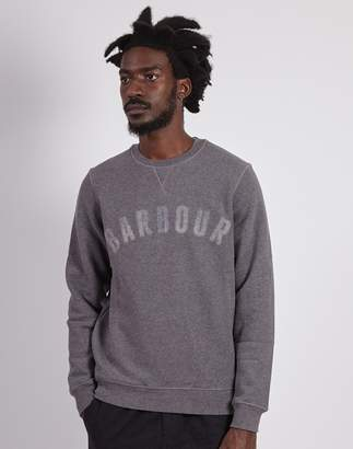 Barbour Logo Sweatshirt Grey