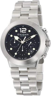 Bulgari Enigma By Gianni Automatic Chronograph Watch w/ Bracelet Strap
