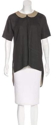 Hache Short Sleeve Tunic w/ Tags