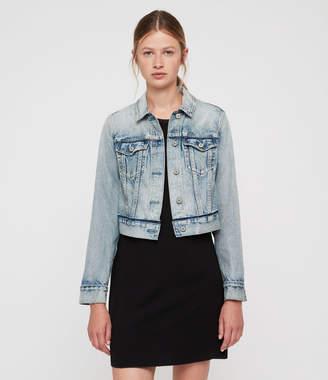 AllSaints Hay Cropped Jacket