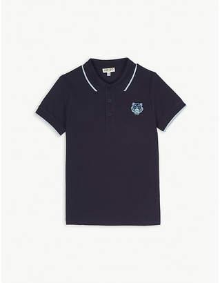 Kenzo Cotton short sleeve polo 3-12 years