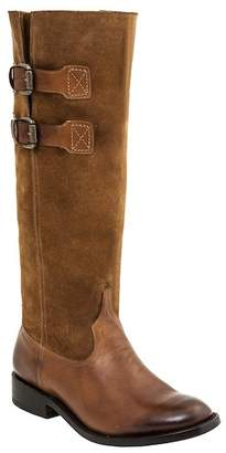 Lucchese Double Buckle Tall Riding Leather Boot - Wide Width Available