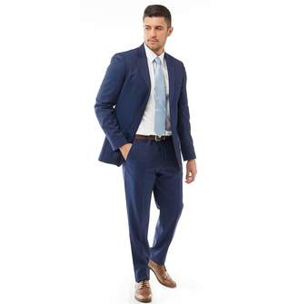 Ted Baker Mens Decdent Debonair Plain Suit Navy
