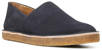Vince Gifford Suede Slip On Sneakers $295 thestylecure.com
