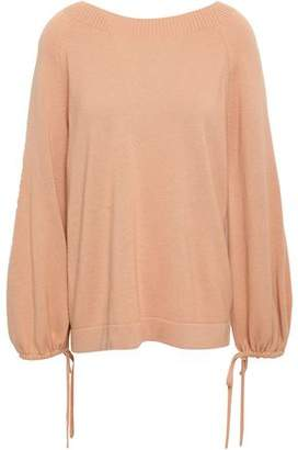 Vince Pointelle-trimmed Cashmere Sweater