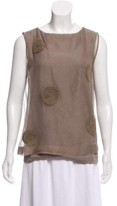 Fabiana Filippi Sleeveless Layered Top