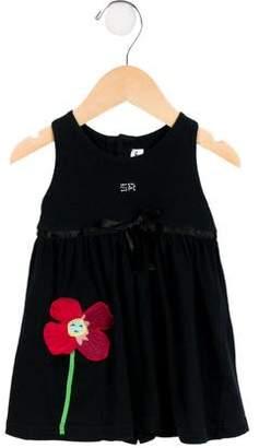 Sonia Rykiel Girls' Sleeveless Embellished Dress