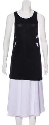 Kimberly Ovitz Sleeveless Jersey Top