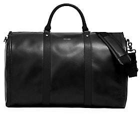 hook + ALBERT Men's Leather Weekender Bag