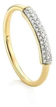 Monica Vinader Stellar Diamond Band Ring