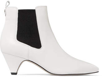 Sam Edelman Leather Ankle Boots - White