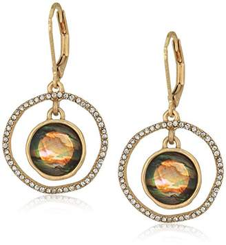 lonna & lilly Gold Tone Orbital Drop Earrings