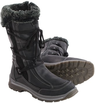 Santana Canada Mendoza Leather Snow Boots - Waterproof (For Women) $139.99 thestylecure.com