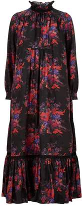 McQ Floral Maxi Dress