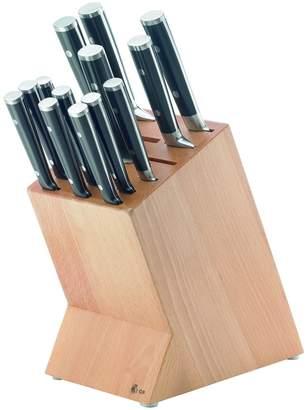 Gordon Ramsay Maze Chef Stainless Steel Knives Block Set (14 PC)