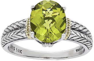 Couture FINE JEWELRY Shey Genuine Peridot Sterling Silver Ring