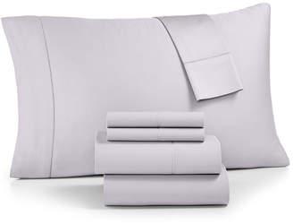 Westport Solid 6-Pc King Sheet Set, 1500 Thread Count Cotton Blend Sateen Bedding