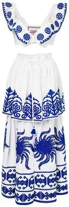 DAY Birger et Mikkelsen Yuliya Magdych Queen of the Sun top and skirt