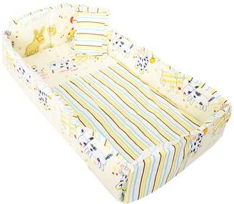 Prettyia Baby Bed Crib Bumper Breathable Infant Kids Nursery Bedding Set Safely
