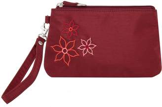 Travelon RFID Blocking Bouquet Wristlet Pouch