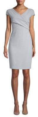 Max Mara Lodi Crossover Sheath Dress