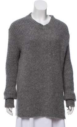Haider Ackermann Oversize Long Sleeve Sweater