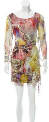 Faith Connexion Printed Silk Dress w/ Tags