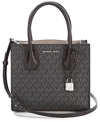 MICHAEL Michael Kors Studio Signature Mercer Cross-Body Bag $228 thestylecure.com