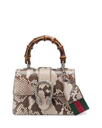 Gucci Dionysus Mini Python Bamboo-Handle Bag