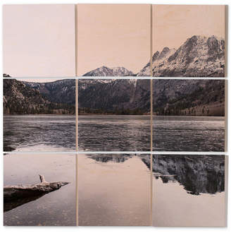 Deny Designs Bree Madden The Lake 9-Pc. Printed Wood Wall Mural