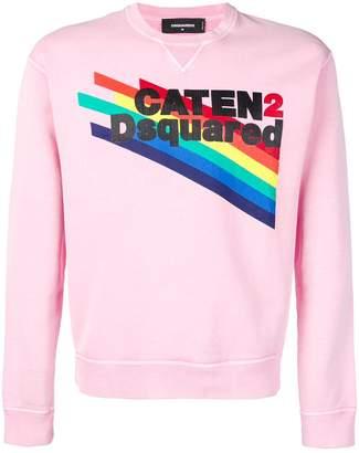 DSQUARED2 graphic print sweatshirt