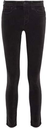 L'Agence Cotton-Blend Corduroy Skinny Pants
