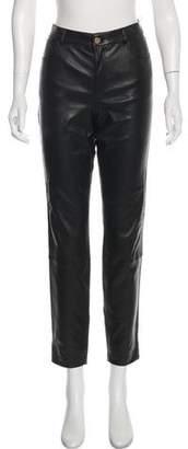 Lafayette 148 Jean Cut Leather Pants w/ Tags