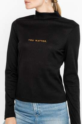Lush Ribber Turtle Neck