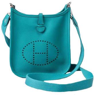 Hermes Evelyne Epsom Mini Blue