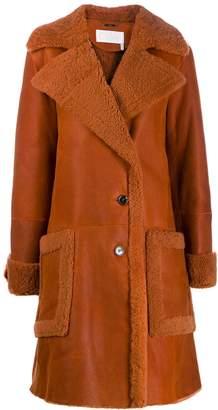 Chloé mid-length shearling coat