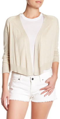 Zadig & Voltaire Monday Open Front Silk Blend Cardigan $295 thestylecure.com