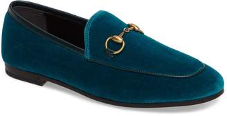 Gucci Brixton Velvet Loafer